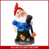 Hot sale ceramic dwarf for souvenir for garden decoration