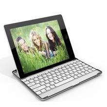 2015 Hot Aluminum Bluetooth keyboard for ipad 2/3/4
