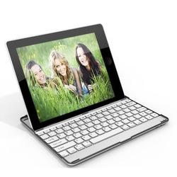 Aluminum Bluetooth keyboard for ipad 2/3/4