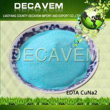 EDTA Cu, edta disodium salt chelating state Copper fertilizer