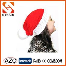 Newest Popular Red Knit Santa Caps