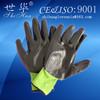 cheap Black nitrile coated work glove