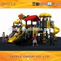 2015 de plástico de diapositivas y de los niños juegos infantiles exterior