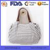 2015 New Fashion Shoulder Bag Casual Canvas Bag Portable Stripe Lady Bag