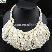 new design 2014 fashion bead necklace