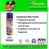 Vanilla Auto Dashboard Silicone Wax Spray PE