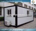 Modular casa pré-fabricada preço kit, Portátil de baixo custo escritório recipientes