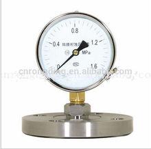 (YTP-100A)100mm diaphragm pressure gauge