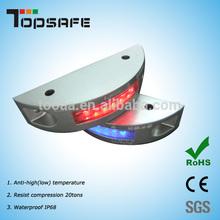 Waterproof IP68 Reflective Aluminum LED Solar Road Marking Studs