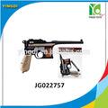 Nouveau modèle pistolet étirement vibrations commandos flash pistolet électrique en plastique B / O pistolet d'or, Jg022757