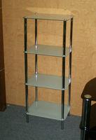 Customize Bathroom Curved Glass Shelf