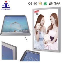JL-K Rectangle Light Box, Aluminum LED Poster light Frame for Advertisement