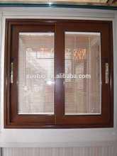 PVC wooden color sliding window