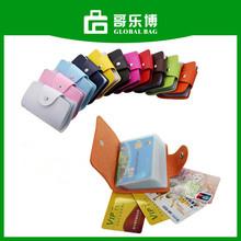Soft Leather Business Name Credit Card 24 Bank Card Bag Case Card Holder