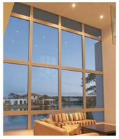2014 wholesale fixed glass windows of curtain wall design