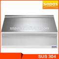 sopas 900 série commercal cozinha açoinoxidável ewt8093 bancadas