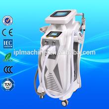 Hot 4 in 1 e-light ipl rf+nd yag laser multifunction machine
