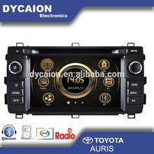 car stereo radio dvd gps Toyota Auris/car auto radio dvd gps with navigation/Car multimedia radio dvd gps for toyota Auris