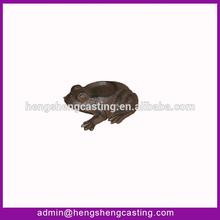 wholesale decorative metal garden frog