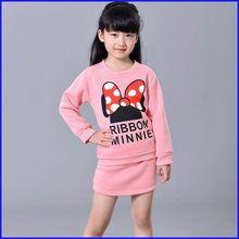 2014 fashion style cotton children clothing set, wholesale childrens clothing