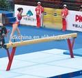 madeira de ginástica trave de equilíbrio para a formação