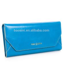 Wholesale ladies genuine leather purses card holders elegant hand bags wallets