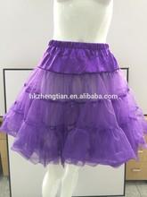 China supplier Hot Sale Layered Wedding Petticoat