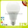 High quality aluminum plastic 12w e27 led bulbs light