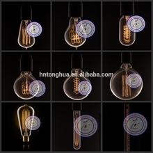 vintage Edison bulb antique Edison light bulb carbon filament Edison bulb ST64 ST58 T45 A19 G80 G95 G125