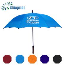 customized logo hyundai golf umbrella promotional gifts
