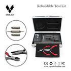 RDA wire cutting tool kit for rebuilding lovers rda tool kit, low price ecig diy tool