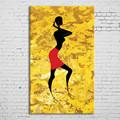 famoso moderno color brillante figura humana abstracto pintura al óleo de la pared