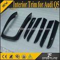 6 unids/set Real fibra de carbono de Q5 interior del tablero de instrumentos para Audi Q5 09 $number $number - 13