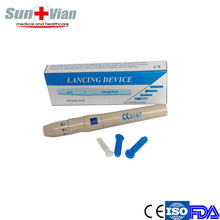 Medical plastic lancet device of pen type cheap price