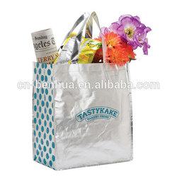 Custom Design Laminated Non Woven Shopping Bag