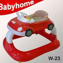 car shape swivel wheels baby walker wholesale