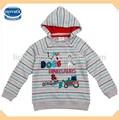 ( a3022) gris. 12m-5y boys pull sport hoodies vêtements pour bébés en chine