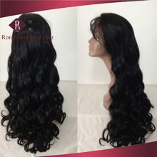 Cheap Heat Resistant Synthetic Hair Natural Curly Wig For Black Women