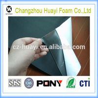 2mm black color eva foam self adhesive rubber eva foam sheet