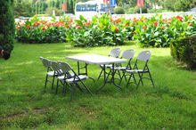 High-density Polyethylene Material Outdoor Folding Table and Chairs