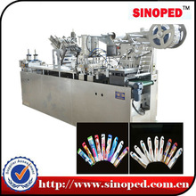 Fully Automatic Multi-function Toothbrush Paper Plastic Packing Machine