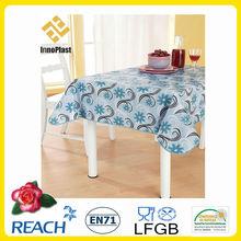 PVC table cloth overlay