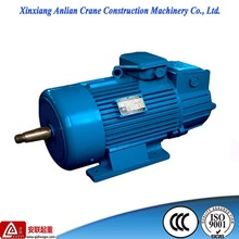 crane used electric motor with asynchronous and three phase