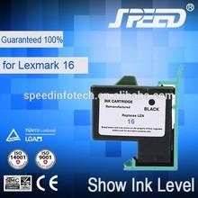Remanufactured printer ink cartridges for lexmark 16 26 Suitable for LEXMARK Z13/Z33/Z35/Z603/Z605/X1150/4105