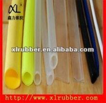 2014 manufacturer of custom silicone rubber tube /silicone rubber for high temperature furnace