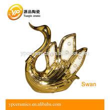 de cerámica moderna cisne china