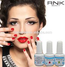 rnk color one step gel polish professional easy move one step nail gel , free sample uv gel nail polish,