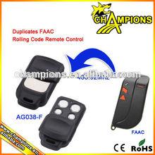 duplicados faac rolling code mando a distancia