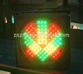 الصمام اللمعان الصين 2014 المركبة الضوئية/ الحركة القوية ضوء/ إشارات المرور مع السهم الأحمر الصليب الأخضر