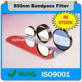 Fabricante chino 850nm ir filtro de corte de utilizado para múltiples- táctil de la pantal